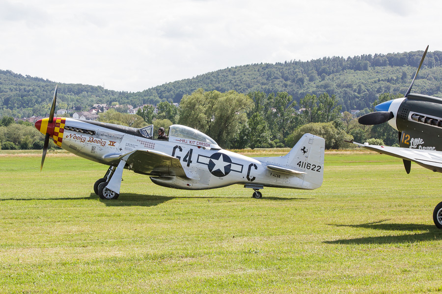 "Mustang P-51 ""Nooky Booky"" (F-AZSB)"