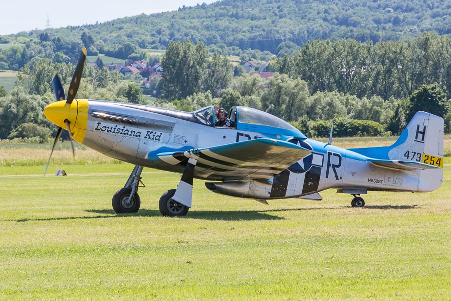 """Mustang P-51 D """"Louisiana Kid"""" (N6328T)"""