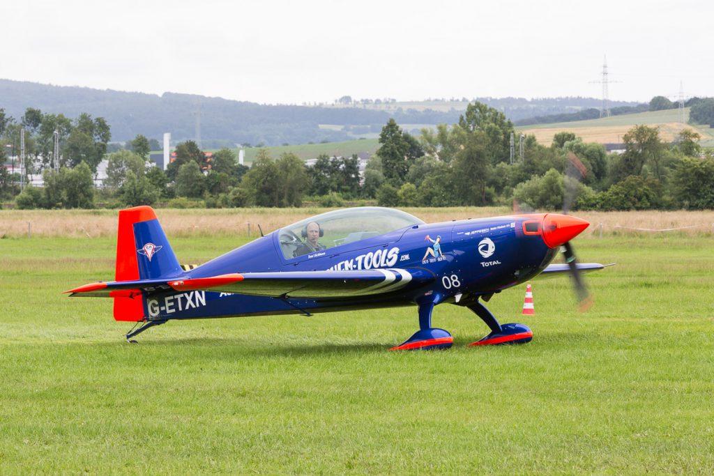 Extra 330LT (G-ETXN) Toni Eichhorn