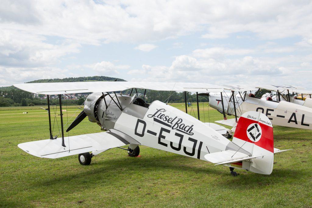Bücker Jungmeister 133C (D-EJJI)