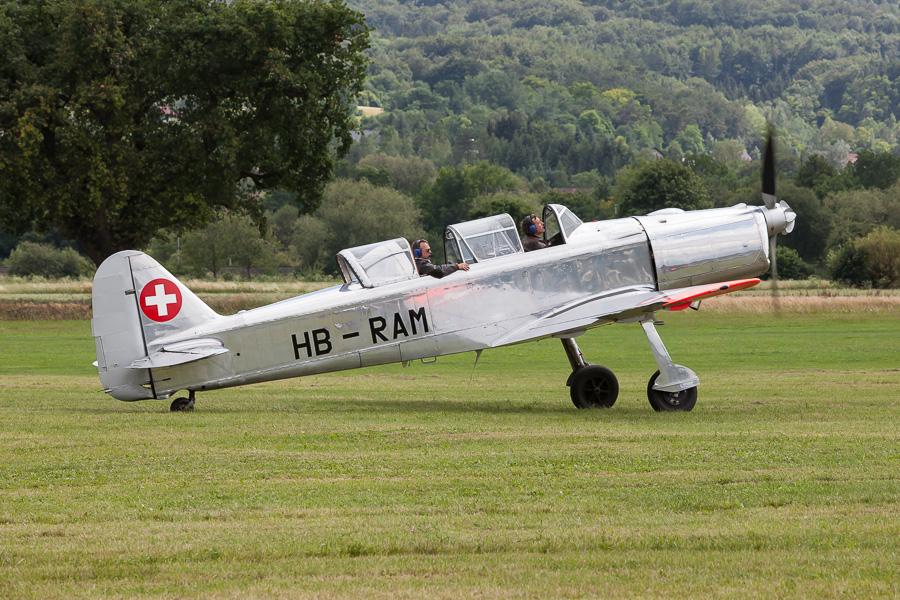 Pilatus P-2 (HB-RAM)