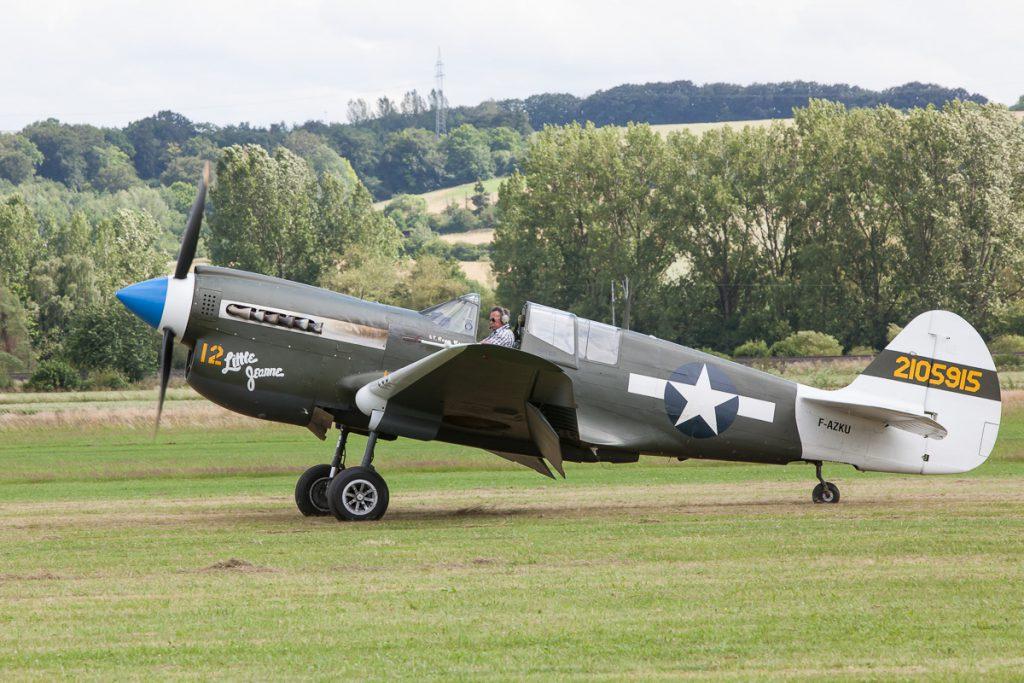 Curtis P40N Warhawk (F-AZKU)