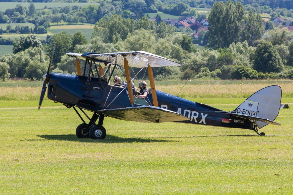De Havilland DH-82A Tiger Moth (D-AORX)