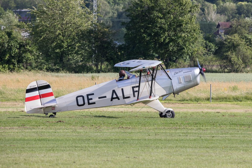 Bücker Jungmann 131 (OE-ALF)