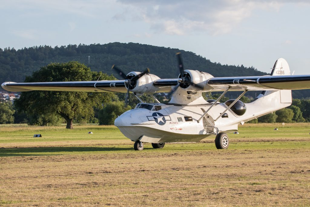 Airshow Gelnhausen 2019 - Consolidated PBY-5A Catalina